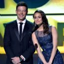 Corey Monteith and Emmy Rossum At The 18th Annual Critics' Choice Movie Awards - Show (2013) - 454 x 632
