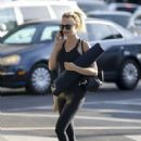Heather Graham – Going to a yoga class in Los Angeles - 454 x 641