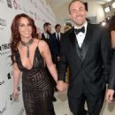 Britney Spears Oscars 2014 Elton John Aids Foundation Academy Awards Party
