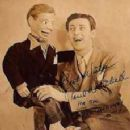 Paul Winchell with Jerry Mahoney