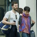 Amelia Warner and Jamie Dornan out in London (April 8, 2015) - 428 x 600