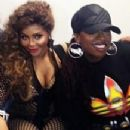 Missy Elliott and Lil' Kim