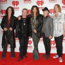AEROSMITH SEEN ARRIVING TO THE SECOND DAY OF THE iHEART MUSIC FESTIVAL SEPT. 22, 2012