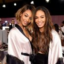 Joan Smalls 2014 Victorias Secret Show Backstage In London