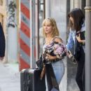 Elsa Pataky out Shopping in Madrid - 454 x 681