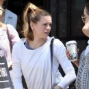 Danielle Panabaker – Leaving Joan's on Third 08/05/2017 - 454 x 681