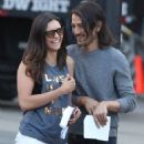 Nina Dobrev and Diego Luna