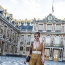 Jennifer Lawrence at the Chateau de Versailles in Versailles - 454 x 806