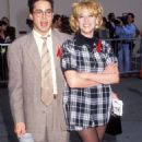 Robert Downey Jr and Virginia Madsen At The 1992 MTV Movie Awards