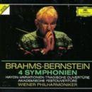4 Symphonies (Vienna Philharmonic Orchestra feat. conductor: Leonard Bernstein)