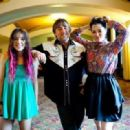 Lorelei Linklater, Richard Linklater and Parker Posey at the San Francisco Film Festival
