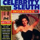 Courteney Cox - Celebrity Sleuth Magazine Cover [United States] (September 1992)