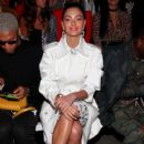 Demi-Leigh Nel-Peters-  Dan Liu S/S19 - New York Fashion Week: The Shows - Front Row - 400 x 600