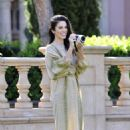 Nikki Reed at Fairmont Grand Del Mar in San Diego