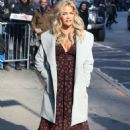 Denise Richards – Arrives at Good Morning America in New York City - 454 x 650