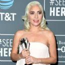 Lady Gaga At The 24th Annual Critics' Choice Awards (2019) - 417 x 600