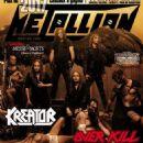 Kreator - Metallian Magazine Cover [France] (February 2017)