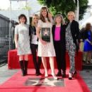 Allison Janney's newly unveiled Star at her Hollywood Walk of Fame star ceremony on October 17, 2016 in Hollywood, California - 454 x 312