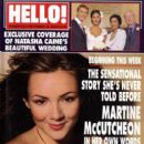 Martine McCutcheon - Hello! Magazine Cover [United Kingdom] (26 September 2000)