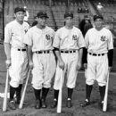 Bill Dickey, Lou Gehrig, Joe DiMaggio &Tony Lazzeri