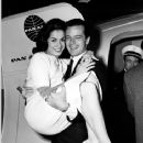 Robert Goulet and Carol Lawrence