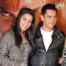 Aamir Khan and Asin Thottumkal