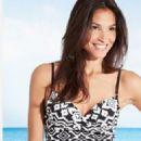 Daniela Kanter modeling Marks and Spencers Swimware - 454 x 780