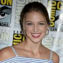 Melissa Benoist – 'Supergirl' Press Line at Comic-Con 2016 in San Diego - 454 x 686