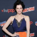 WGN America's Underground star Jessica de Gouw during panel discussion at New York Comic Con 2016 at Jacob Javits Center on October 9, 2016 in New York City - 399 x 600
