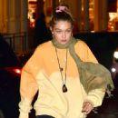 Gigi Hadid – Leaving La Esquina Restaurant in Brooklyn