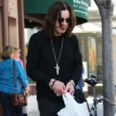 Legendary rocker Ozzy Osbourne out and about in Beverly Hills, CA on March 28, 2013