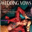 Shruti Haasan - Wedding Vows Magazine Cover [India] (July 2020)