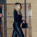 Sofia Richie – Leaves dinner in Malibu