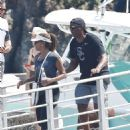 Holly Robinson Peete on a vacation with Rodney Peete in Portofino - 454 x 602