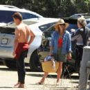 Reese Witherspoon at the beach in Malibu