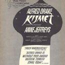 Kismet 1965 Music Theater Of Lincoln Center Summer Revivel - 291 x 445