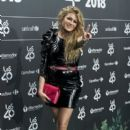 Paulina Rubio-  '40 Principales' Awards Nominated Dinner 2018 - 399 x 600