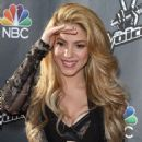 Shakira The Voice Red Carpet Event In Hollywood
