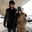 Katy Perry and Russell Brand: Heathrow Lovers