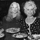 Sondra Locke and Eva Gabor
