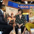Ali Larter and Milla Jovovich – Good Morning America in New York January 28, 2017 - 454 x 302