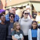 Angelina Jolie on the first day of the Telluride Film Festival