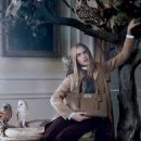 Cara Delevingne for Mulberry Fall/Winter 2013 Ad Campaign