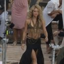 Shakira- Commercial Shooting in Spain - 454 x 651