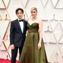 Noah Baumbach and Greta Gerwig At The 92nd Annual Academy Awards - Arrivals - 400 x 600