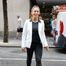 Aly Raisman – Leaving 'The Today Show' in NYC - 454 x 681