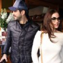 Burak Özçivit &  Fahriye Evcen  : out and about