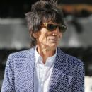 Ronnie Wood of the Rolling stones pose for the media ahead of their Australian tour at Adelaide Oval on October 23, 2014 in Adelaide, Australia.