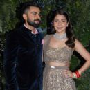 Virat and Anushka at their Wedding Reception in Mumbai - 454 x 593