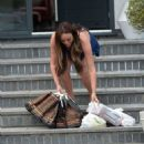 Charlotte Crosby – Spotted at her house in Sunderland - 454 x 595